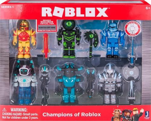 Roblox Series 1 Champions of Roblox 6 Pack Action Figures Playset Kids Toy Gift