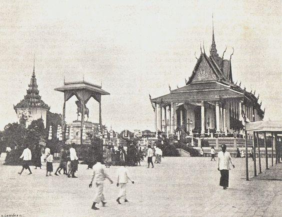 Chùa Bạc vào năm 1904