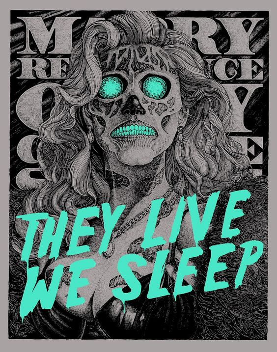 They Live 1988 Poster They Live (1988) - glo...