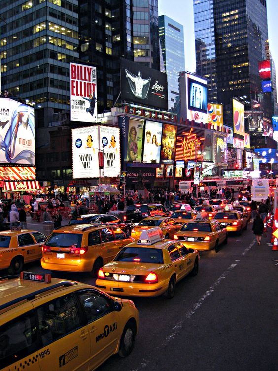 Times Square – New York City. Love that place!!!: