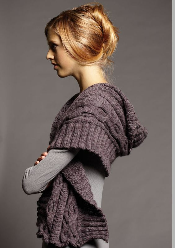 Shawl Knitting Pattern : 2014 Jo Sharp hand knitting yarn catalogue #ClippedOnIssuu Cable, Shawl and...