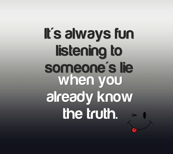 That is so true
