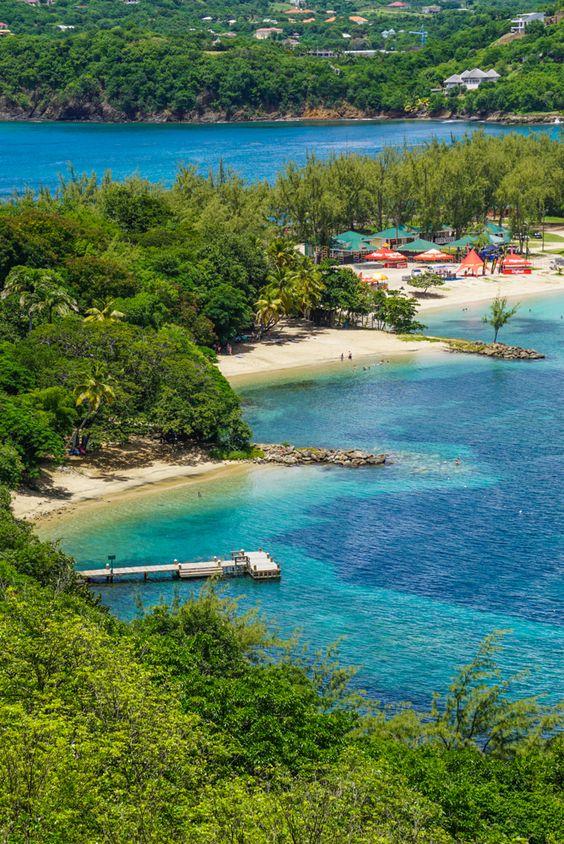Saint Lucia Caraibe