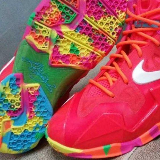Baby LeBron Shoes Fruity Pebbles   nike-lebron-11-gs-fruity-pebbles-4