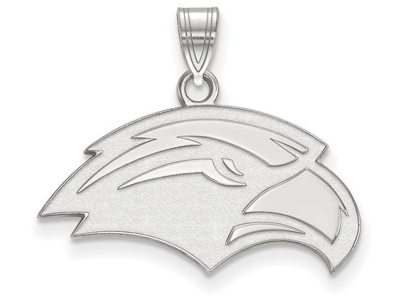 LogoArt Sterling Silver University Of Southern Misterling Silver Small Pendant Necklace - Chain Included