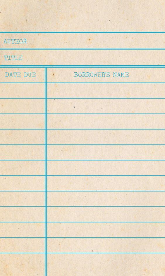 Liczba obrazów na temat Notice boards na Pintereście 17 - library card template