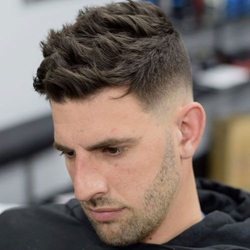 44 Unique Mid Fade Haircuts For The Stylish Man Mid Fade Haircut Fade Haircut Mens Haircuts Fade