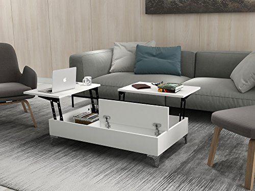 Dose Of Modern Esinti White Coffee Table 756frn2813 White