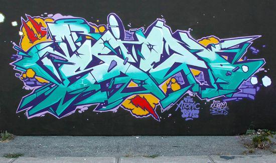 123Klan, Scien, Klor, graffiti art