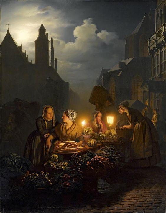 Classical Street Paintings By Petrus Van Schendel - 121Clicks.com: