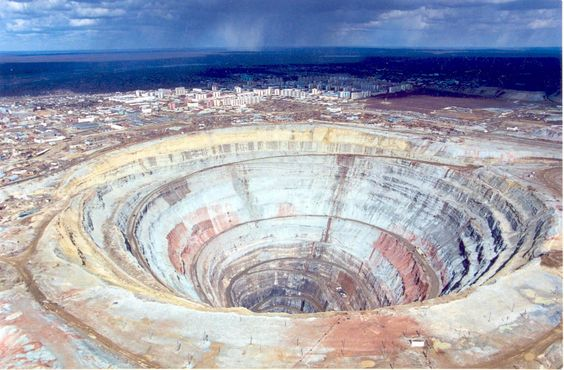 Tambang Emas - Papua, Indonesia. Gold mine