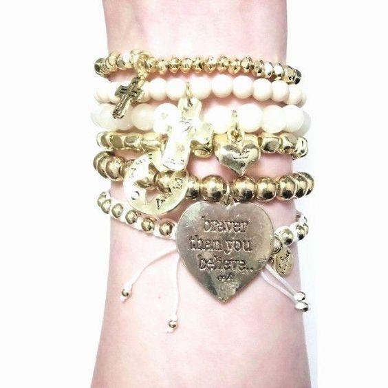 CAT HAMMILL キャットハミル ブレスレット heart bracelet set かわいい新色 レディース ブレス 人気 海外 セレブ 愛用 かわいい セット - セレクトショップレトワールボーテ - Yahoo!ショッピング