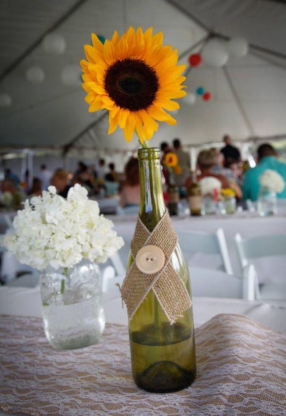 Wedding table decor- DIY