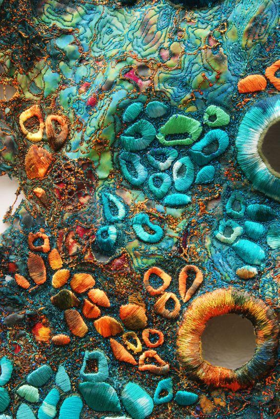 Artist Sue Hotchkis www.suehotchkis.com - Fabriques de l'Art | Pinterest - Facebook, Abstract en ...