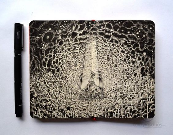 Incredible Moleskine Doodles By Kerby Rosanes