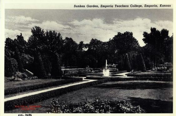 The Sunken Garden - 1953