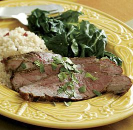 Grilled Leg of Lamb with Garlic & Curry Spices #Healthy Grilling ...