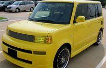My dream car...even the lights are yellow!  Scion xB GT Yellow Headlight Protection Kit