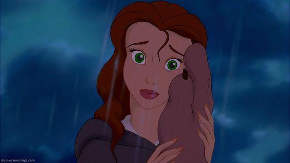 Belle with green eyes - Disney Princess Photo (33553880) - Fanpop