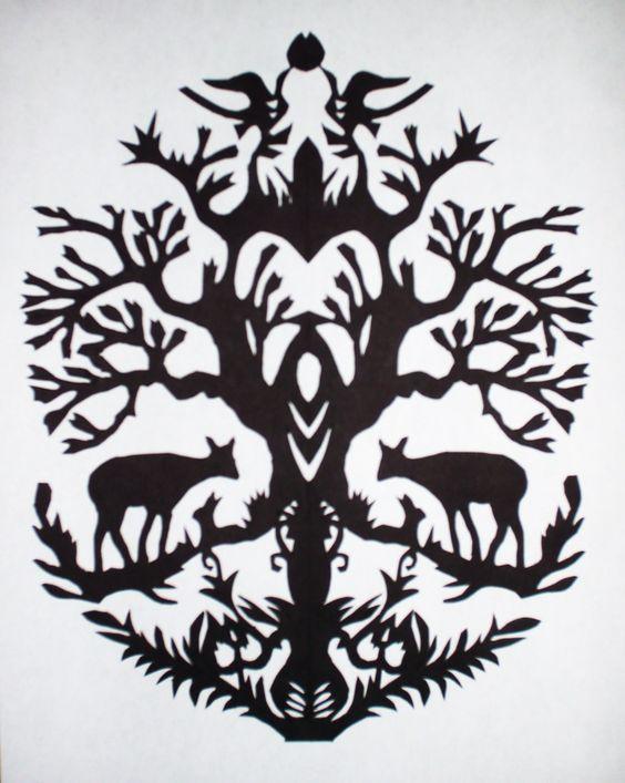 Paper cutting pattern cut paper Pinterest Paper Cutting