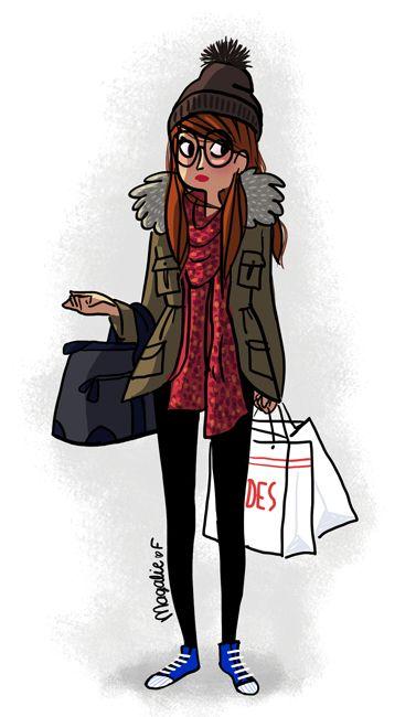 Les chroniques illustrées de Magalie  Rue de Bordeaux