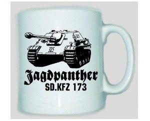 Tasse Jagdpanther SD.KFZ 173 / mehr Infos auf: www.Guntia-Militaria-Shop.de