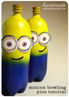 Minions!! Despicable Me Party ideas from pluckymomo blog