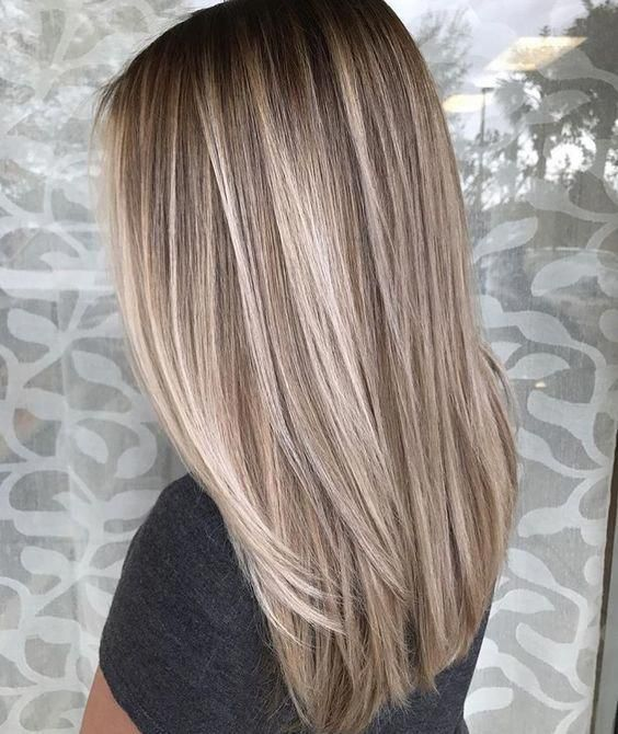 81 Brown Blonde Ombre Hair Color Hairstyles Balayage Straight