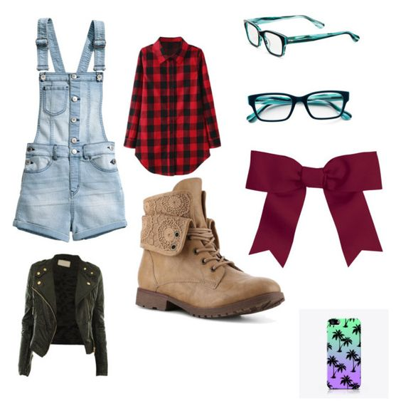 """Country Baddie"" by alissa33 ❤ liked on Polyvore featuring H&M, Corinne McCormack, Chassè, CO and country"
