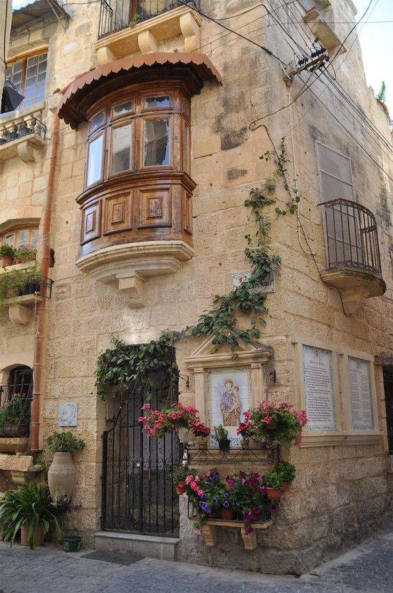 L'une des très belles maisons de Rabat sur l'île de Malte