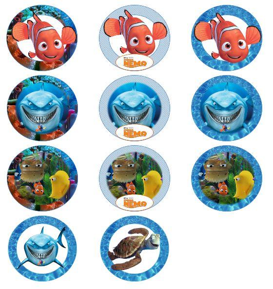 for Nemo cake template