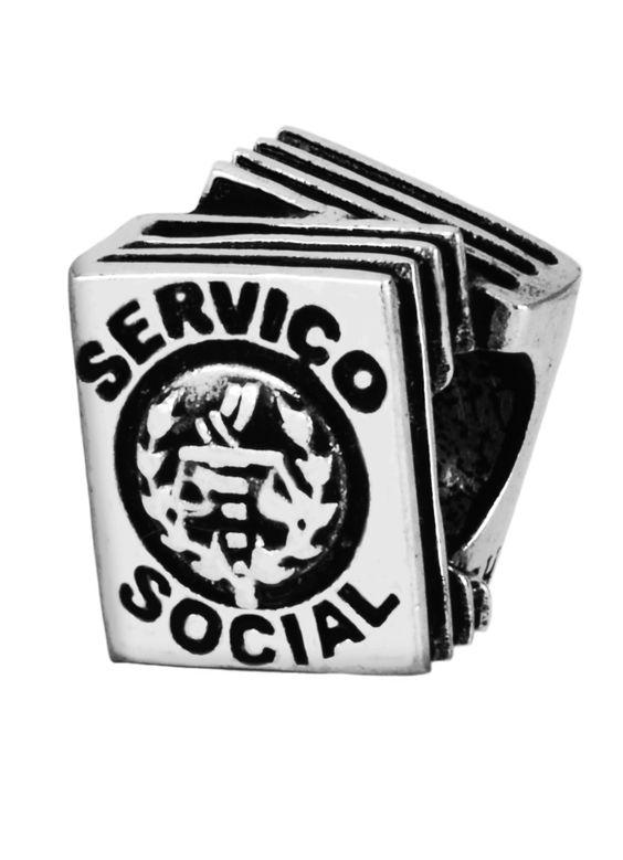 Berloque profissão Serviço Social