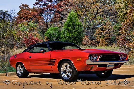 1972 Challenger 440 Six Pack Old School Mopar Muscle