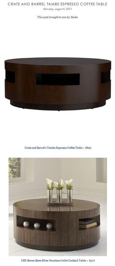 Copy Cat Chic Find Crate And Barrel S Tambe Espresso