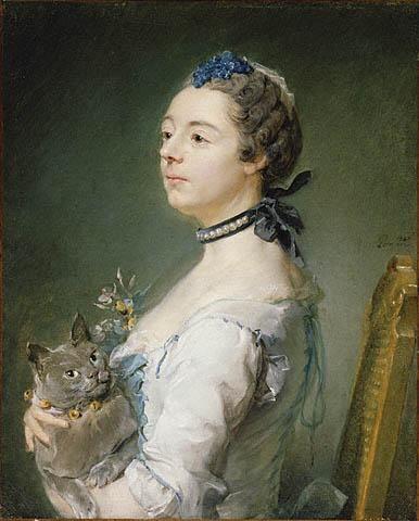 « Portrait de Magdeleine Pinceloup de La Grange » de Jean-Baptiste Perronneau
