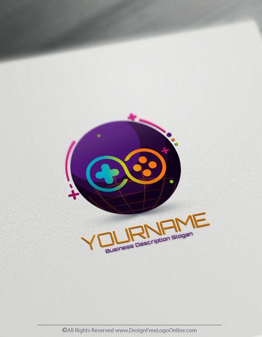 Free Gamer Logo Maker 3d Ps Online Gaming Logo Template Game Logo Design Logo Design Free Templates Game Logo