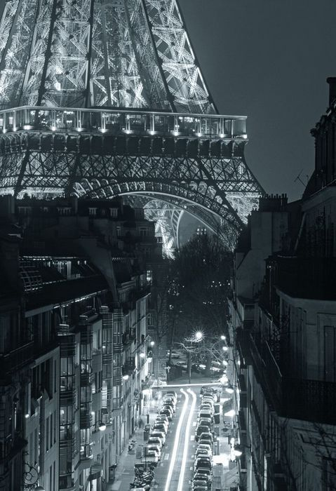 Paris at night...