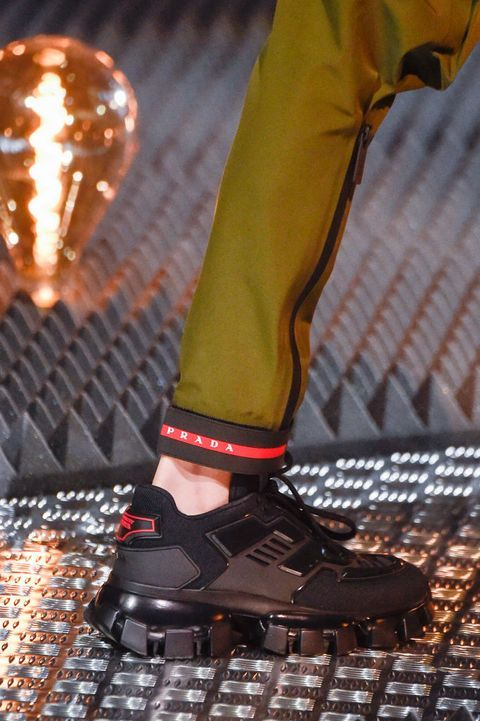 The Most Fabulous Shoes Storming The SS20 Runways | Prada