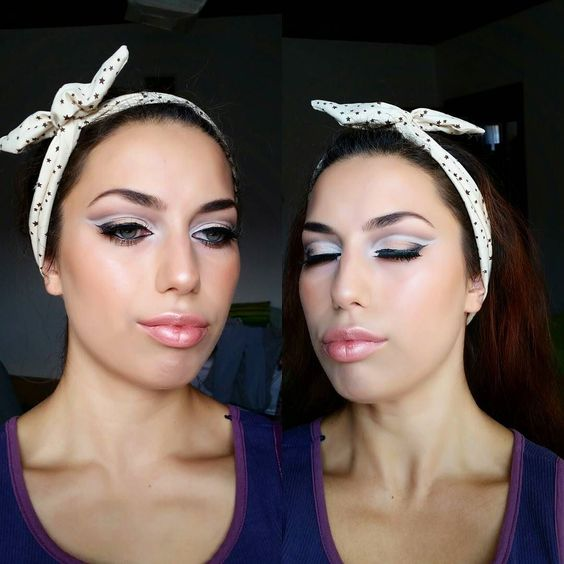 Inglelook: Double Cut Crease Makeup  I am in love with this...