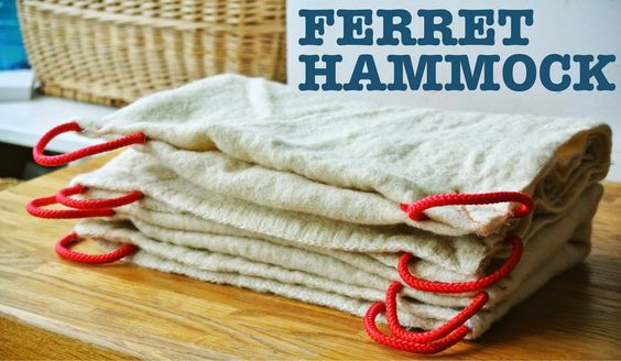 The easiest DIY ferret hammock, pet hammock | Oy Boy!