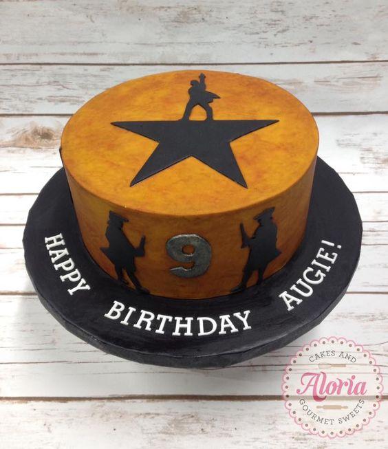 Hamilton The Musical Birthday Cake Birthday Cakes