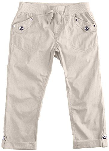 One Step Up Girls 7-16 Poplin Capris for only $10.39
