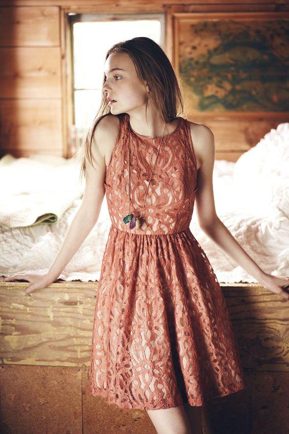 Mariposa Lace Dress // Anthro.