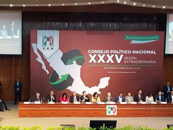 PRI PRESENTA PLAN PARA ELECCIONES 2016