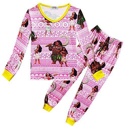 Moana Series Childern Kid Girl Clothing Long Sleeve Coat T Shirt Cotton Tops