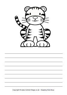 Lots Of Printable Lined Paper Templates  Early Years
