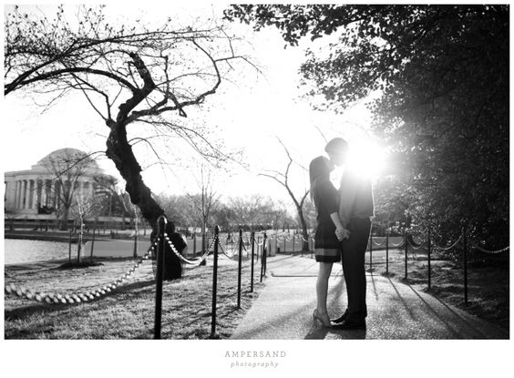 Michael & Rose // DC sunrise engagement