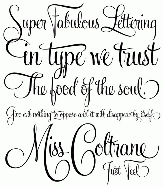 Calligraphy Example for cards etc | Graphics & Computer ...