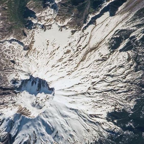 Le mont Saint Helens dans l'état de Washington