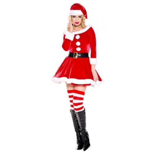 New Music Legs 70826 Santa/'s Helper Costume